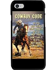 Cowboy Code Phone Case thumbnail
