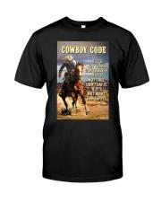 Cowboy Code Classic T-Shirt thumbnail
