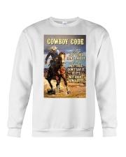Cowboy Code Crewneck Sweatshirt thumbnail