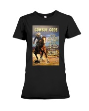 Cowboy Code Premium Fit Ladies Tee thumbnail