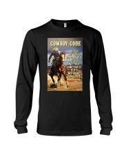 Cowboy Code Long Sleeve Tee thumbnail