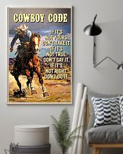 Cowboy Code 11x17 Poster lifestyle-poster-1