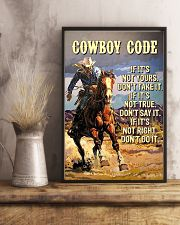 Cowboy Code 11x17 Poster lifestyle-poster-3