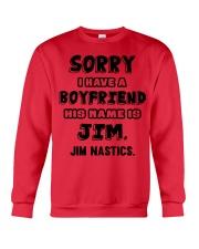 My Boyfriend Is Jim Gymnastics Crewneck Sweatshirt thumbnail