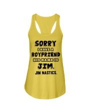 My Boyfriend Is Jim Gymnastics Ladies Flowy Tank thumbnail