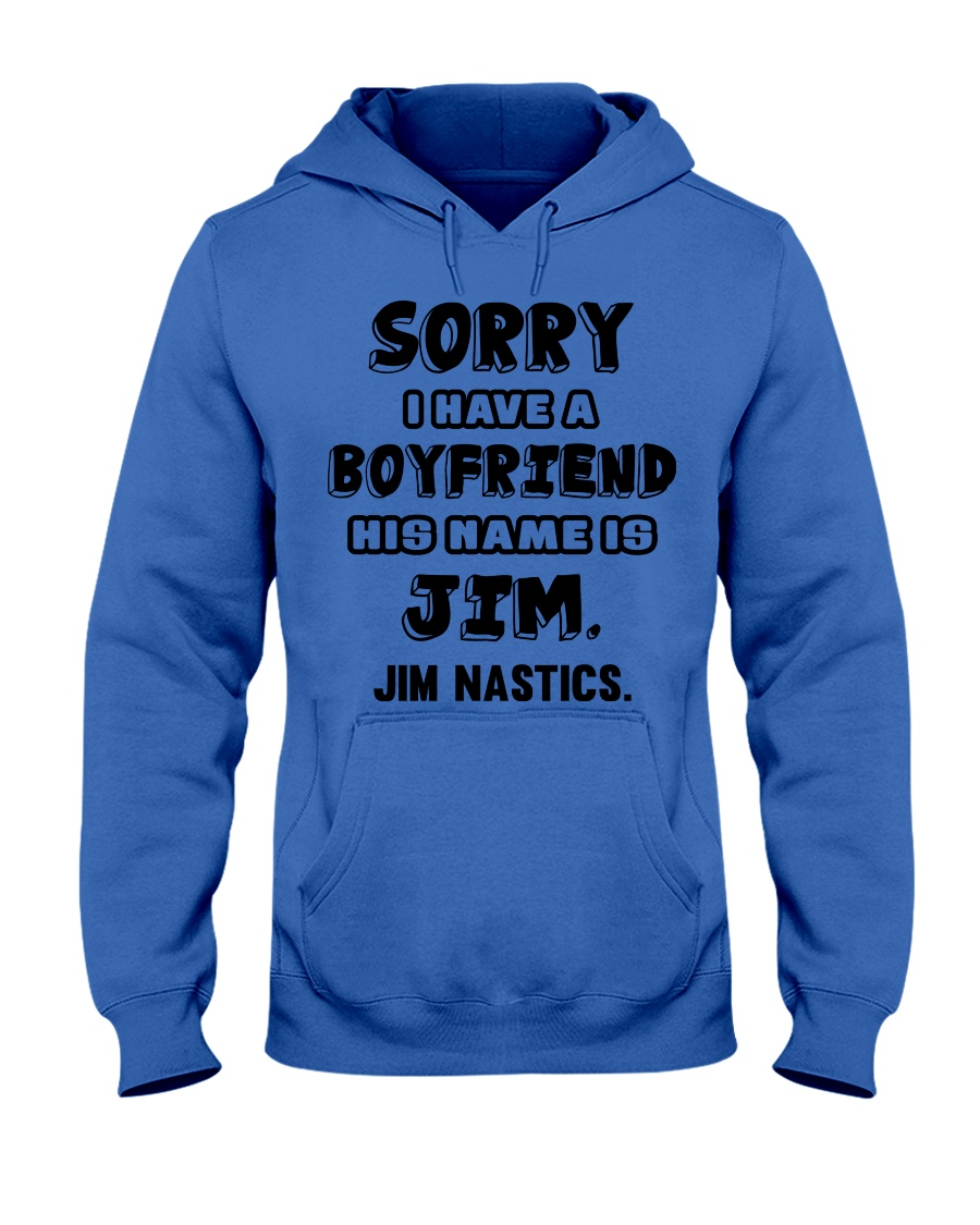 My Boyfriend Is Jim Gymnastics Hooded Sweatshirt