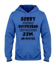 My Boyfriend Is Jim Gymnastics Hooded Sweatshirt front