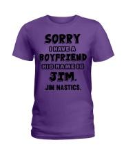 My Boyfriend Is Jim Gymnastics Ladies T-Shirt thumbnail