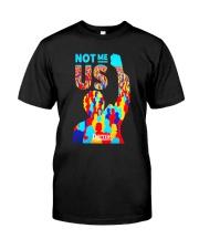 Bernie Sanders TShirt  NOT ME US President Classic T-Shirt front