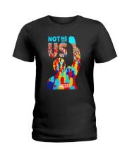 Bernie Sanders TShirt  NOT ME US President Ladies T-Shirt thumbnail