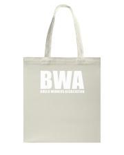 BWA Bread Winner Association Tshirt Tote Bag thumbnail