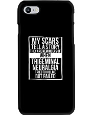 My Scars Trigeminal Neuralgia Survivor and Awarene Phone Case thumbnail