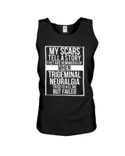 My Scars Trigeminal Neuralgia Survivor and Awarene Unisex Tank thumbnail