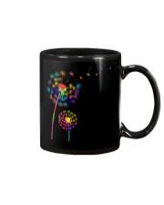 Dandelion Autism Awareness Month Flower Puzzle Mug thumbnail