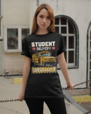 Student Delivery Specialist School Bus Driver Classic T-Shirt apparel-classic-tshirt-lifestyle-19