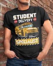 Student Delivery Specialist School Bus Driver Classic T-Shirt apparel-classic-tshirt-lifestyle-26