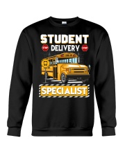 Student Delivery Specialist School Bus Driver Crewneck Sweatshirt thumbnail