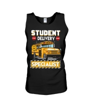 Student Delivery Specialist School Bus Driver Unisex Tank thumbnail