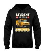 Student Delivery Specialist School Bus Driver Hooded Sweatshirt thumbnail