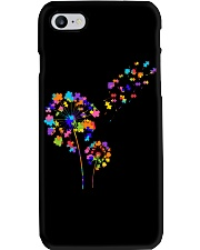 Flower Puzzle Pieces Dandelion Autism Awareness Phone Case thumbnail
