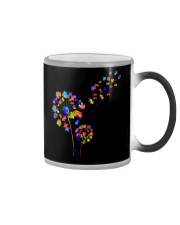 Flower Puzzle Pieces Dandelion Autism Awareness Color Changing Mug thumbnail