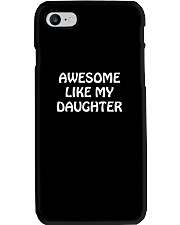 Fathers Day Gift From Daughter Daddy Stepdad Dad P Phone Case thumbnail