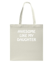 Fathers Day Gift From Daughter Daddy Stepdad Dad P Tote Bag thumbnail