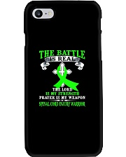 The battle is real SPINAL CORD INJURY warrior tshi Phone Case thumbnail