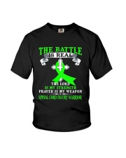 The battle is real SPINAL CORD INJURY warrior tshi Youth T-Shirt thumbnail