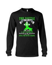 The battle is real SPINAL CORD INJURY warrior tshi Long Sleeve Tee thumbnail