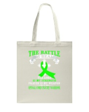 The battle is real SPINAL CORD INJURY warrior tshi Tote Bag thumbnail