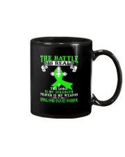 The battle is real SPINAL CORD INJURY warrior tshi Mug thumbnail