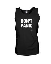 Designs DONT PANIC Funny Saying Graphic TShirt Unisex Tank thumbnail