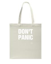Designs DONT PANIC Funny Saying Graphic TShirt Tote Bag thumbnail