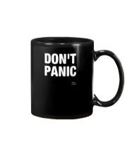 Designs DONT PANIC Funny Saying Graphic TShirt Mug thumbnail