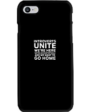 Introverts Unite T Shirt Phone Case thumbnail