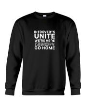 Introverts Unite T Shirt Crewneck Sweatshirt thumbnail