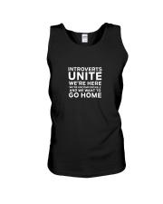Introverts Unite T Shirt Unisex Tank thumbnail