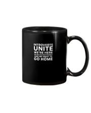 Introverts Unite T Shirt Mug thumbnail