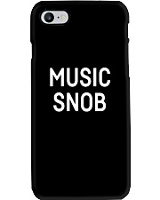Music snob Shirts Phone Case thumbnail