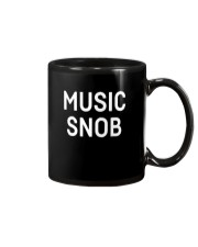 Music snob Shirts Mug tile
