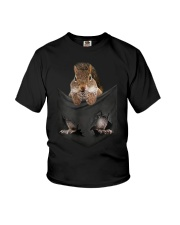 Animal in Your Pocket squirrel t-shirt Youth T-Shirt thumbnail