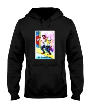 El Borracho Card Loteria Shirt Drunk Mexican Bingo Hooded Sweatshirt thumbnail