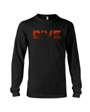 DIVE Scuba Diving Shirt  Vintage Scuba Shirt Long Sleeve Tee thumbnail
