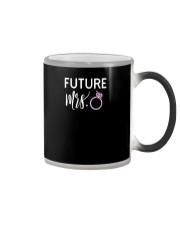 Mrs Wife To Be Fiancee PREMIUM TShirt Color Changing Mug thumbnail