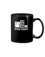 Never Forget T Shirt Cool funny floppy disk vhs 90 Mug thumbnail