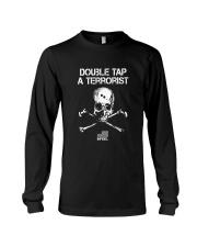 Double Tap A Terrorist TShirt American Infidel Long Sleeve Tee thumbnail