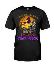 100 Percent With That Witch Halloween Classic T-Shirt thumbnail