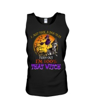 100 Percent With That Witch Halloween Unisex Tank thumbnail