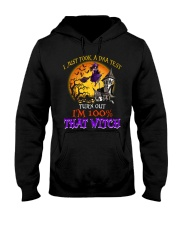 100 Percent With That Witch Halloween Hooded Sweatshirt thumbnail